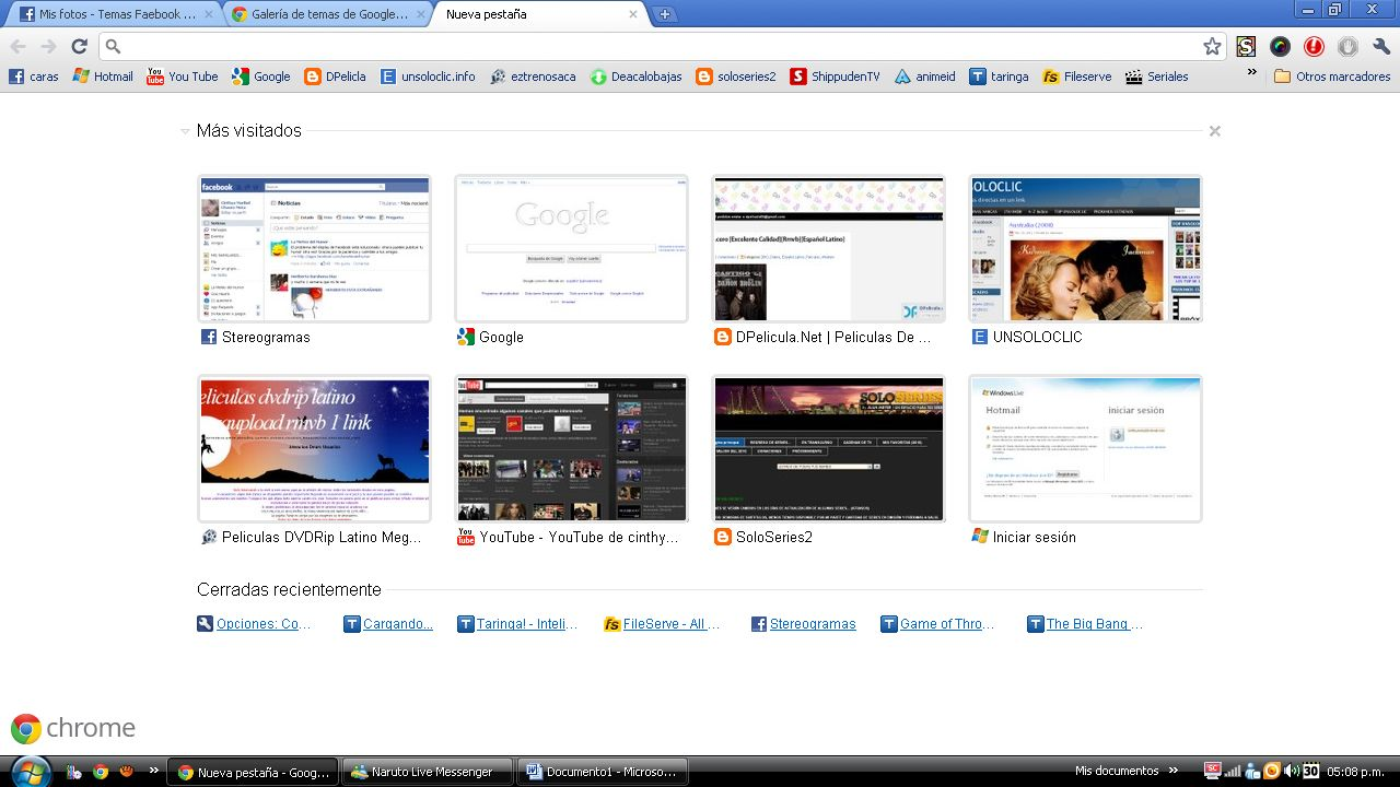 Personalizando Google Chrome y Facebook