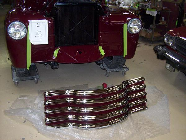 Restaurando la chevrolet pick-up del 51.