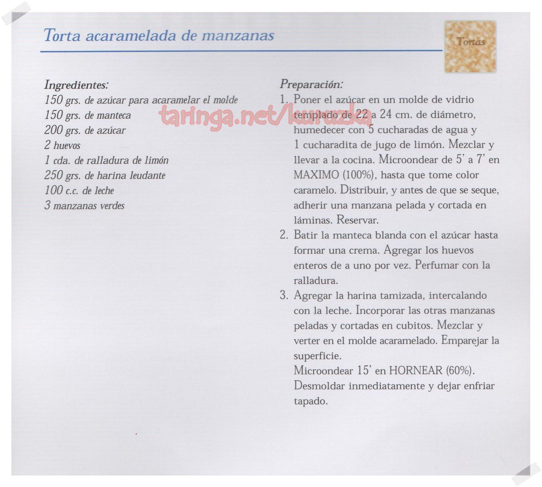 recetas