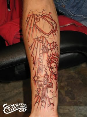 Tatuajes CHICANOS, Mr.Cartoon